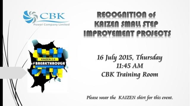 1Kaizen Small Step Awarding (1)