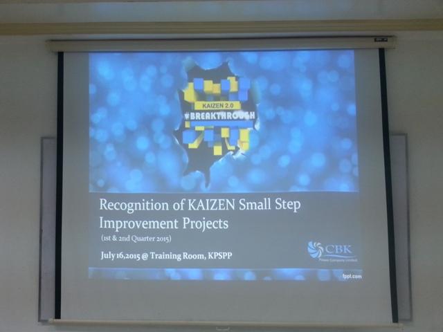 1Kaizen Small Step Awarding (2)