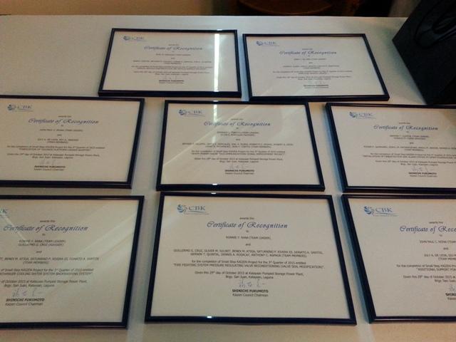2Kaizen Small Step Awarding(2)